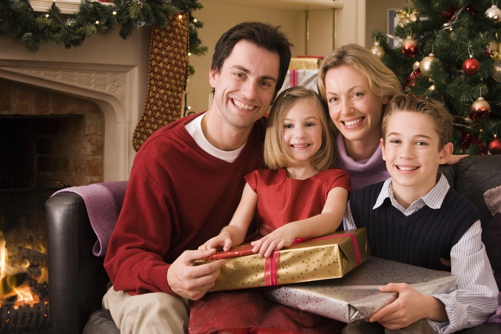 Rodina vánoční