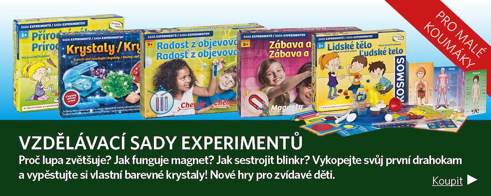 sady experimentů